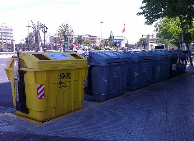 Contenedores basura