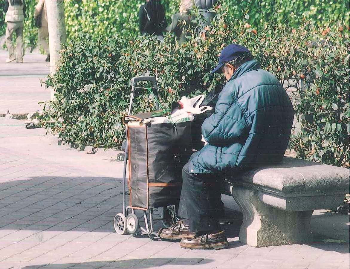 Foto Noticia personas sin hogar