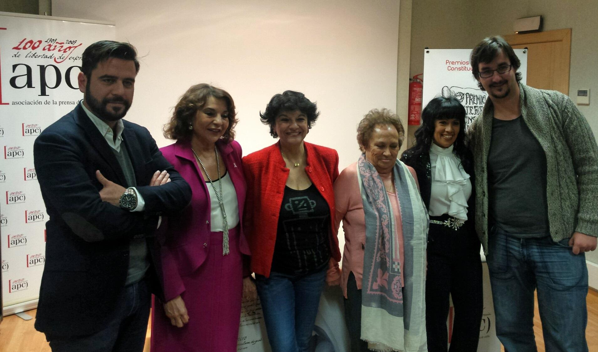 Premios Mujeres Constitucionales 2015
