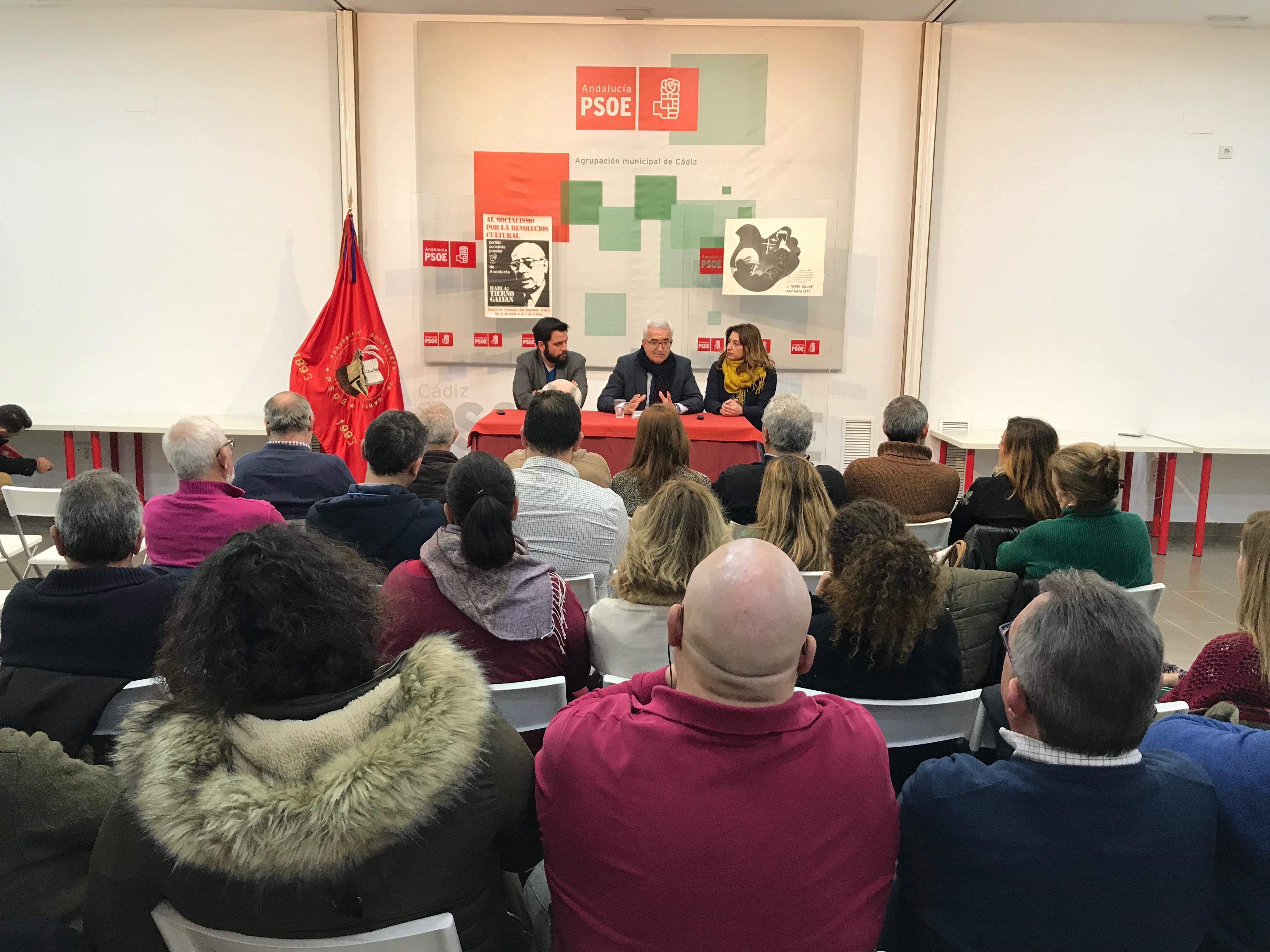 REUNIÓN PSOE CÁDIZ-VICEPRESIDENTE 1